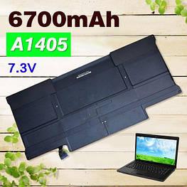Аккумулятор Battery Macbook Air 13 a1405 6700 mAh