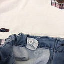 Футболка и джинсовые шорты  1,2,3,4 года, фото 3