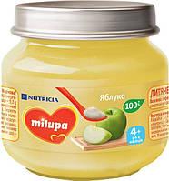 Пюре Milupa Яблоко 100г, с 4мес