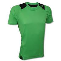 Футболка спортивная, мужская Adidas CLIMACOOL FORMOTION ™ 2in1 Shirt & Top Model Team V38314 адидас