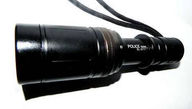 Фонарь для подводного плавания LED Bl-8771, водонепроницаемый, анодированный алюминий, очень яркий, 1*18650, фото 2