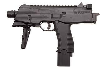 Пистолет пневматический Gamo MP-9 / Пистолет с жатым СО2 черного цвета
