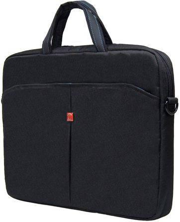 """Практичная мужская сумка для ноутбука 10"""" Continent  CC-010 Black черный, CC-010 Navy синий"""