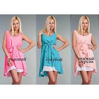 Женское платье с пояском, женское платье разные цвета, жіноче плаття