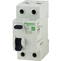 EZ9R84263 Дифференциальные выключатели нагрузки (УЗО) EASY9 2п 63А 300мА, фото 1