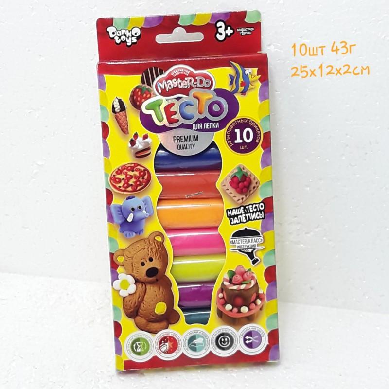 """Тесто для лепки """"Master Do"""" TMD-02-01 10 цветов"""