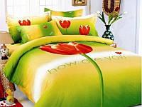Комплект постельного белья евро Le Vele Tulip, сатин, лучшая цена!
