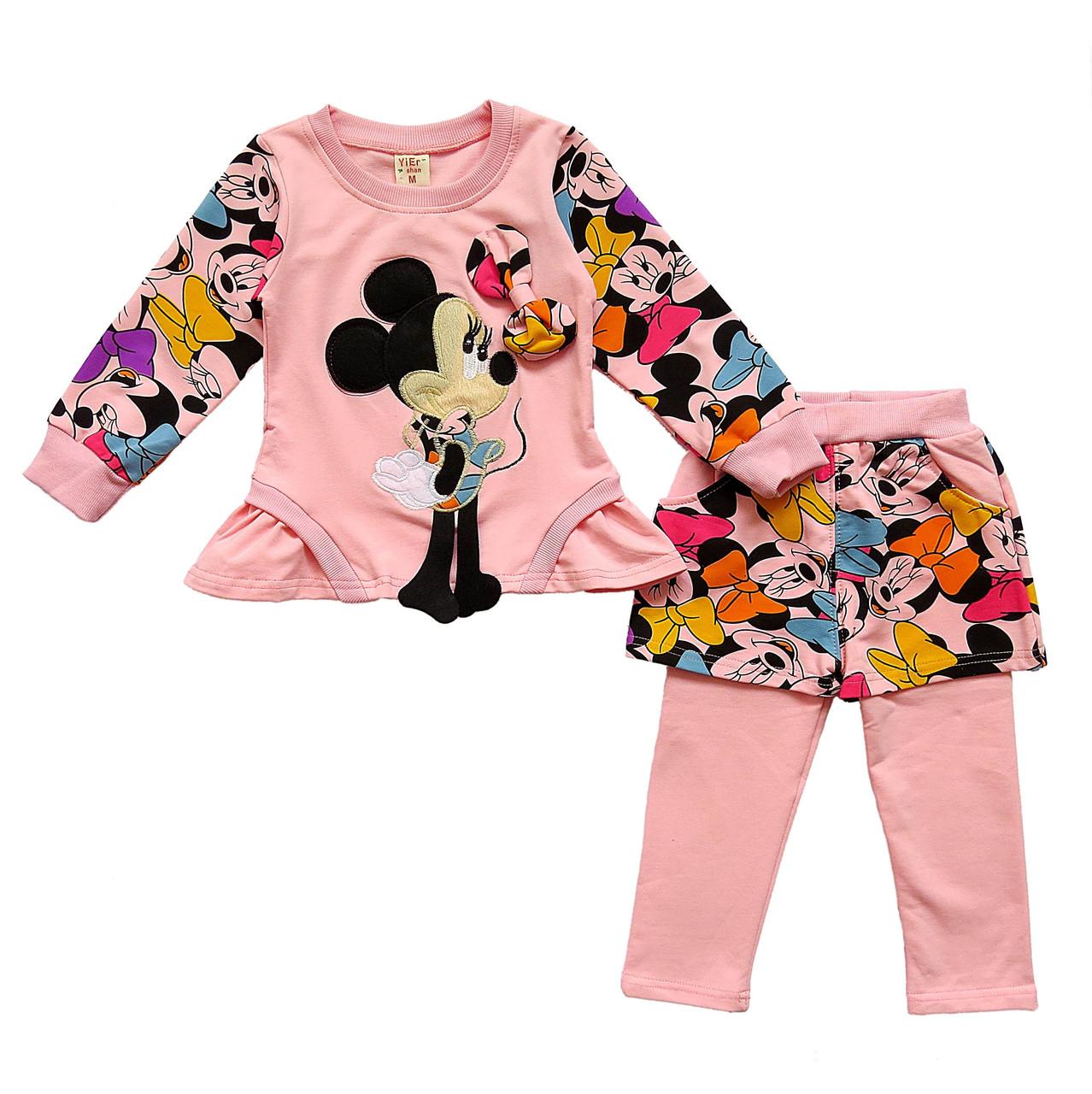 Костюм Minnie Mouse для девочки. 90, 100 см