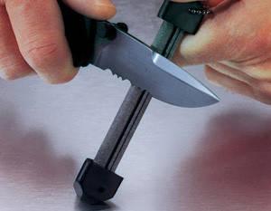 """Точило Gatco """"Tri-Seps"""" Diamond / Точильне пристосування для ножів чорного кольору"""