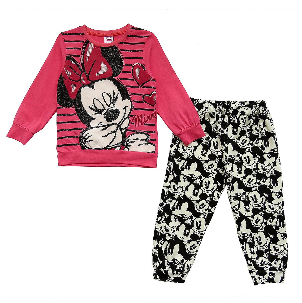 Костюм Minnie Mouse для девочки. Большемерит. 92, 98, 104 см