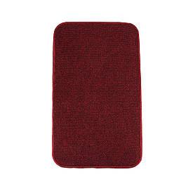 Электрический коврик с подогревом Теплик двусторонний 50 х 30 см Темно-красный
