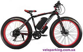 Электровелосипед алюминиевый фэтбайк Crossover G-Motion 26 (1000W Panasonic) 2019 All