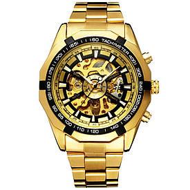 Мужские механические часы Winner Timi Skeleton Gold (WS-102) 52587a0ae4c1e