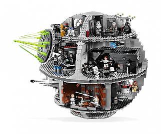 Детский конструктор Lepin Star Wars Звезда Смерти 05035 3803 детали Серый (20185555C-287)
