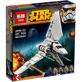 Детский конструктор Lepin 05057 Star Wars Имперский шаттл Тайдириум 937 деталей (20185555C-286)