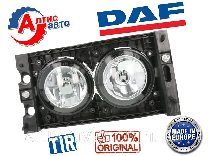 Фара противотуманная DAF XF 105 Евро 4 5, CF 75 85 Trucklight оптика для грузовиков галогенка Даф