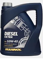 Моторное масло Mannol Diesel Extra 10W40 5L