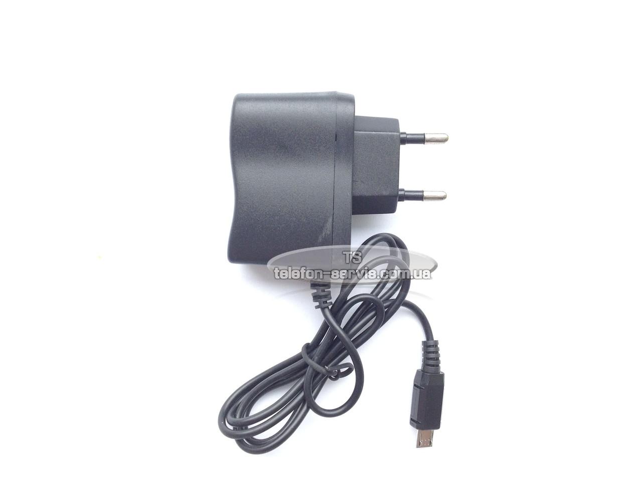 Мережевий зарядний пристрій Nokia samsung s5610 c3322 c3300 fly mikro коннектор