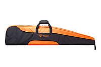 Чехол Tikka для карабина с прицелом 132 см черно/оранжевого цвета
