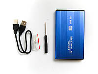 Внешний карман для HDD 2.5 дюймов, USB 2.0 - SATA, TRY TB-S254U2, до 3 TB, алюминий