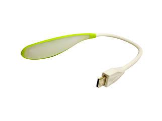 Гибкая лампа USB Лайм (15666)