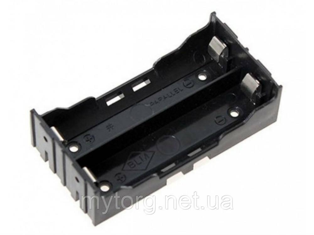Батарейный отсек для аккумулятора 18650 3.7 В 18650х2