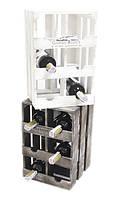 """Подставка для вина на 6 бутылок """"Ящик"""", вертикальный"""