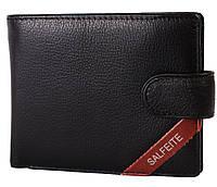 Кожаный кошелек Salfeite с зажимом для денег