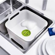 Joseph Joseph Емкость для мытья посуды со сливом Wash&Drain 31х30х20 см. 85055