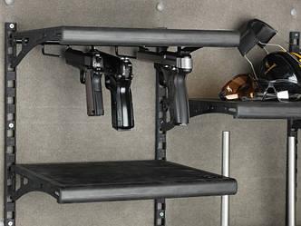 Крепление для пистолетов AXIS для сейфа BROWNING черного цвета