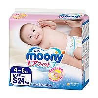 Подгузники Moony S 4-8 кг 24 шт (4903111277551)