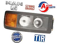 Фара Man F2000 (командор) M 2000, H7/H7/P21W/W5W оптика для грузовиков Ман