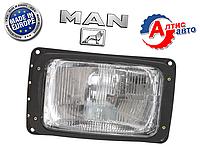 Фара MAN 8.163, 8.180, 8.150 LE F9 л2000 оптика для грузовиков Ман tga tgx тгл  противотуманная
