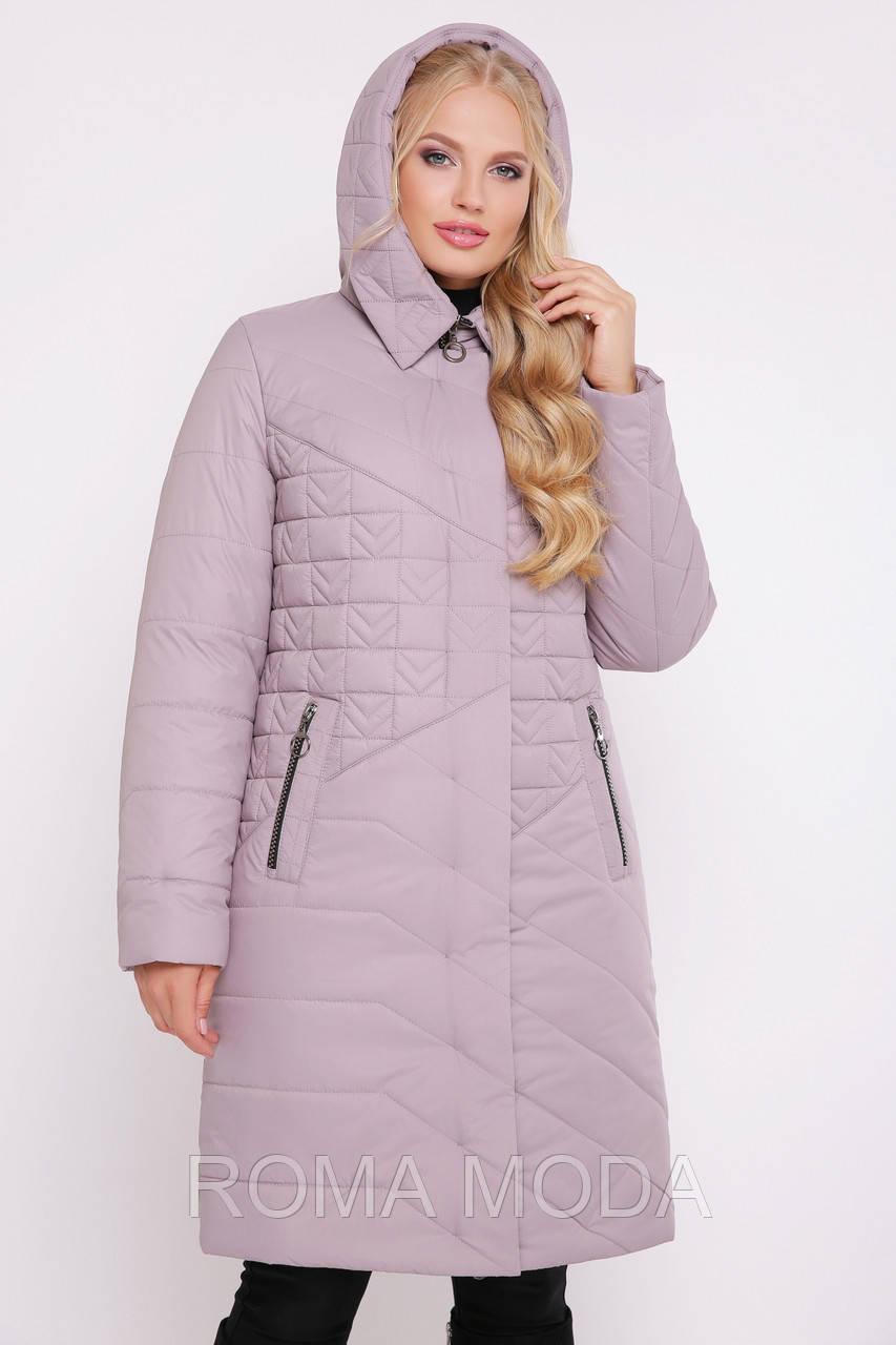 59f1a836054 Светлая женская куртка-пальто Фраголино размер 56-60 - ROMA MODA в Харькове