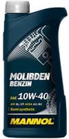 Моторное масло Mannol Molibden Benzin 10W40 1L