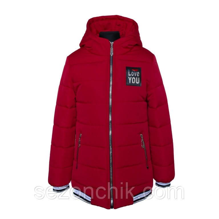 Демисезонные куртки на девочку весна осень