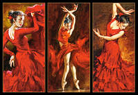 Пазлы Castorland Танцовщица Фламенко  103119, 1000 элементов