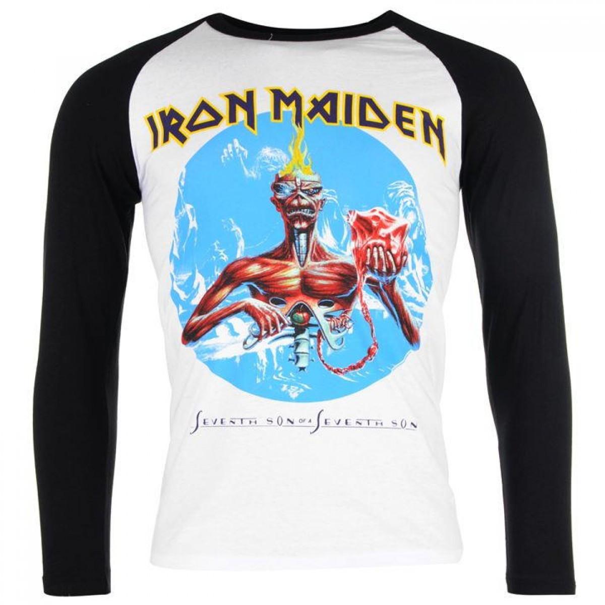 896fd1bd4775 Футболка Official Iron Maiden Raglan Seventh Son - Оригинал - FAIR -  оригинальная одежда и обувь