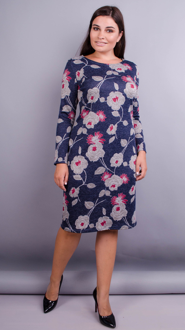 8beb1d237d2 Надин. Красивое Платье для Женщин Плюс Сайз. Цветы. — в Категории ...