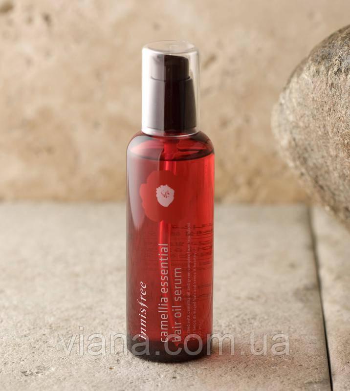 Несмываемая сыворотка для поврежденных волос Innisfree Camellia Essential Hair Oil Serum100 ml