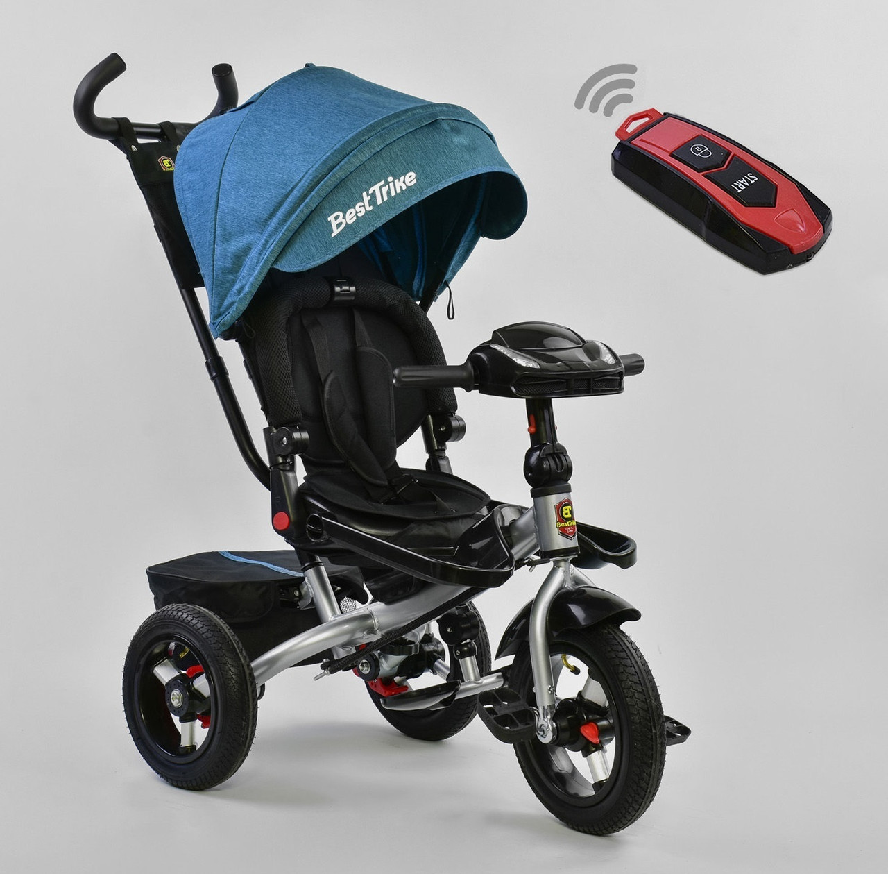 Best Trike Велосипед Best Trike 6088 F 1670 New Turquoise/Black (6088 FN)