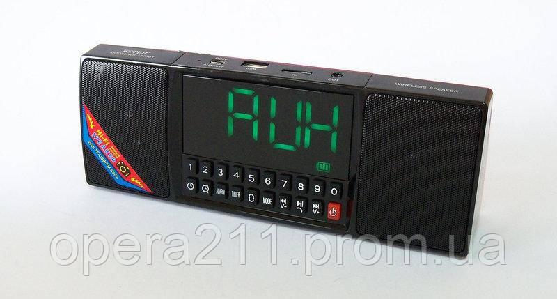 Портативная колонка и часы WS 1515 bluetooth