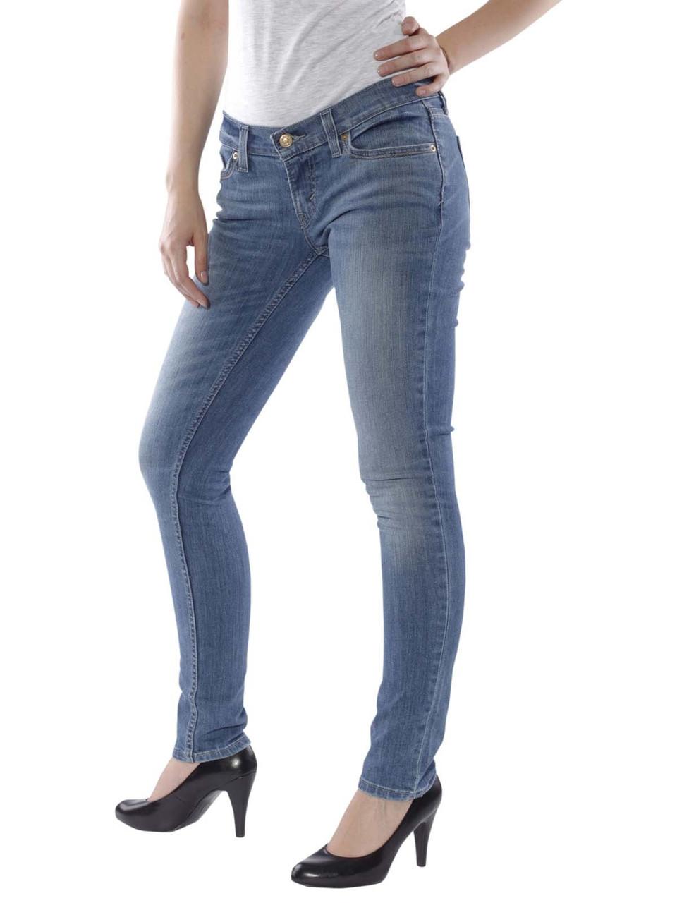 14114ce2c4b Женские джинсы Levis 524 Skinny Jeans 11499-0002