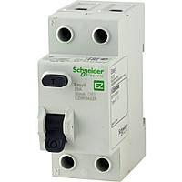 EZ9R34463 Дифференциальные выключатели нагрузки (УЗО) EASY9 4п 63А 30мА, фото 1