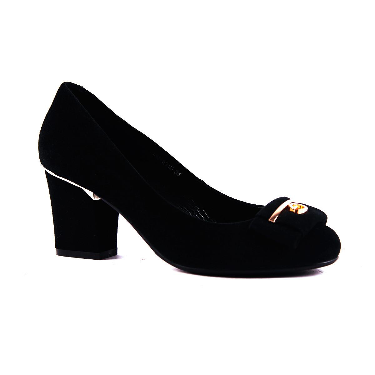 862b56988 Купить Туфли Reuchll замшевые на широком каблуке недорого в интернет ...