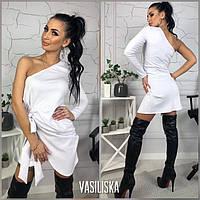 Женское трикотажное платье стильное, фото 1