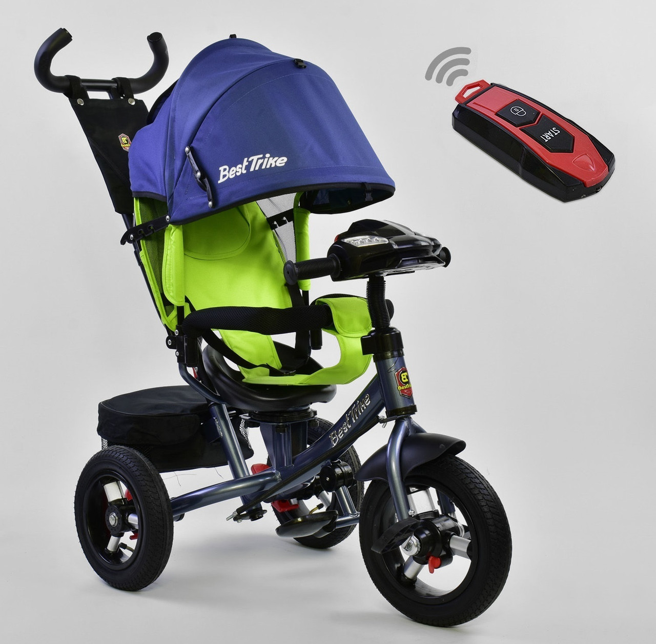 Best Trike Велосипед Best Trike 7700 B 7640 New Blue / Lime Green (7700 BN)