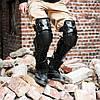 Мото защита коленей шарнирные Красные мото наколенники Fox Raptor, фото 2