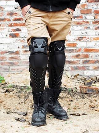 Мото защита коленей шарнирные наколенники Fox Raptor, фото 2