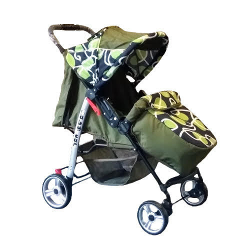 Trans Baby Прогулочная коляска Trans Baby Baby Car Olive (BaCar 12/Petelki)